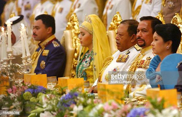 Banquet At The Istana Nurul Iman The Day After The Wedding Of Prince Haji AlMuhtadee Billah The Crown Prince Of Brunei Darussalam Princess Dayangku...