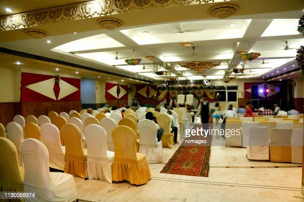 banquet hall - banquet hall stock pictures, royalty-free photos & images