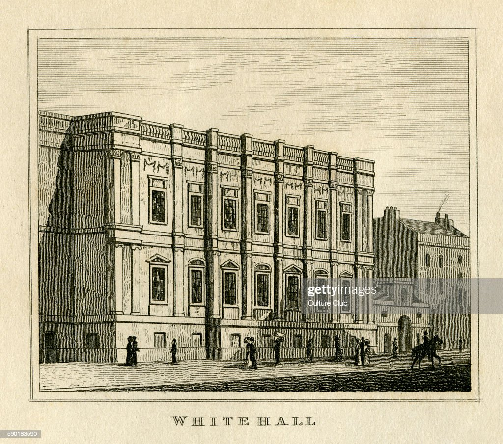 Banqueting House Whitehall London 1835 Built 1619 1622 Designed