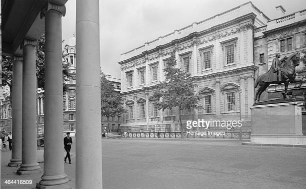 Banqueting House, Whitehall, London, 1945-1980. Exterior view of the Banqueting House, designed by Inigo Jones for James I and completed in 1622.