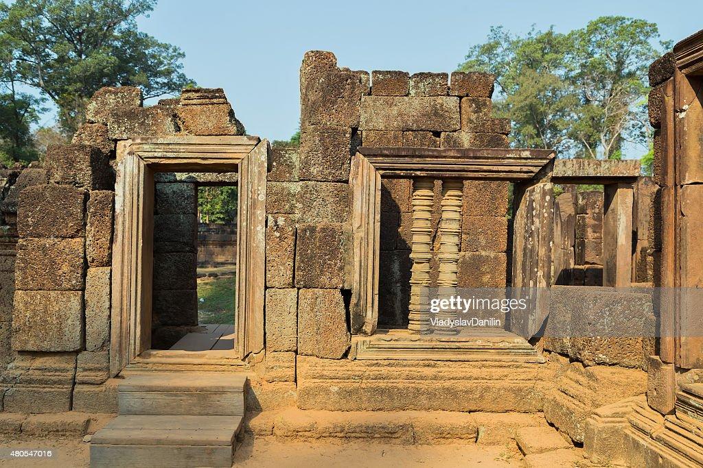 Banteai Srei, Siem Reap, Camboja : Foto de stock