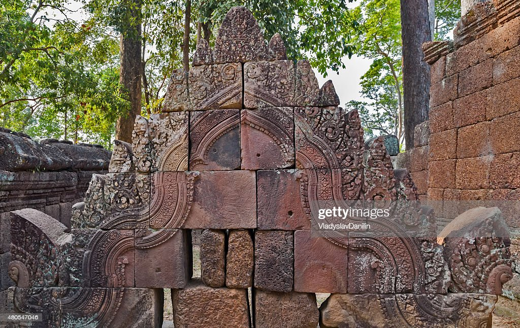 Banteai Srei, Siem Reap, Cambodia : Stock Photo