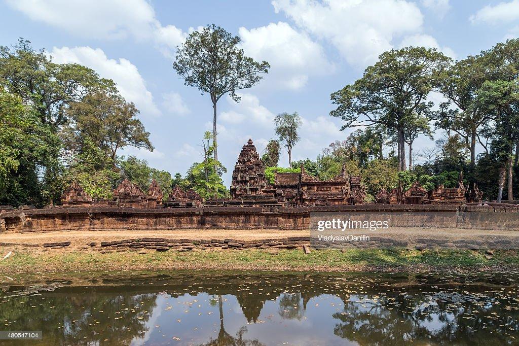 Banteai Srei, Siem Reap, Cambodia : Stock Photo
