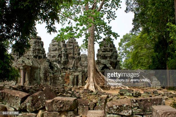 banteay kdei, angkor - angkor stock photos and pictures