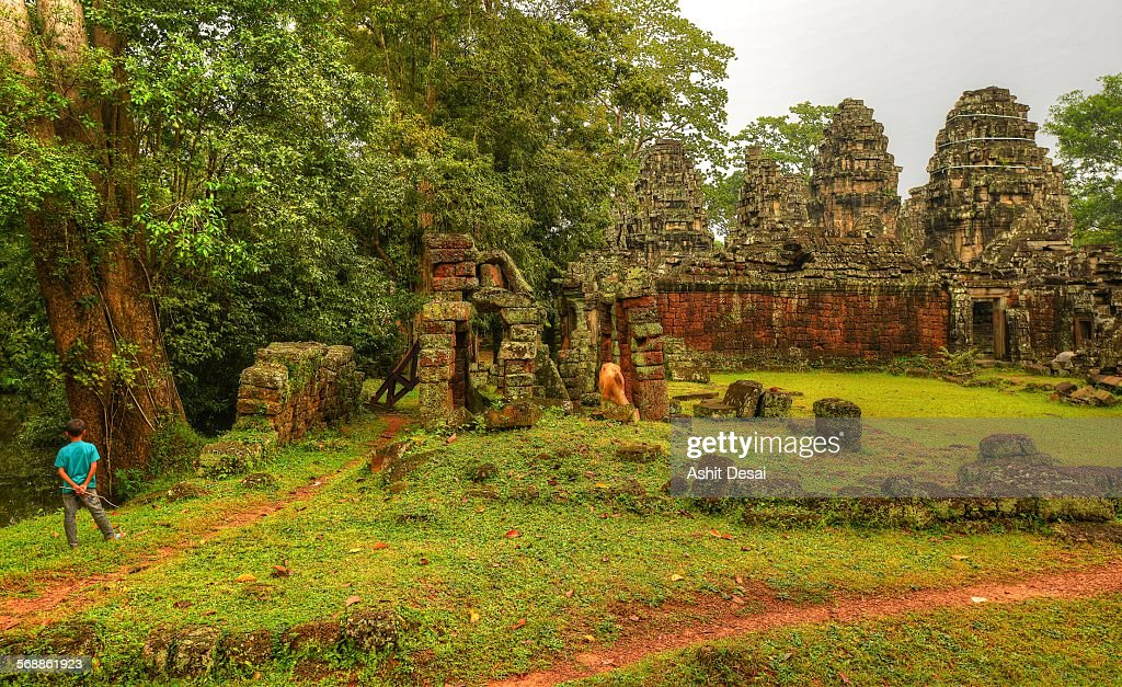 Banteay Kdei, Siem Reap, Cambodia : Stock Photo