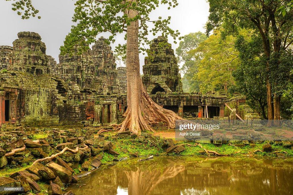Banteay Kdei, Siem Reap, Cambodia : Stock Photo