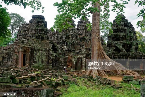 Banteay Kdei temple. Angkor Thom. Angkor. UNESCO World Heritage Site. Siem Reap. Cambodia. Indochina. Southeast Asia. Asia.