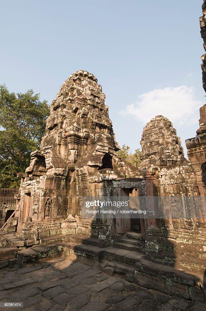 Banteay Kdei temple, Angkor Thom, Angkor, UNESCO World Heritage Site, Siem Reap, Cambodia, Indochina, Southeast Asia, Asia : Foto de stock