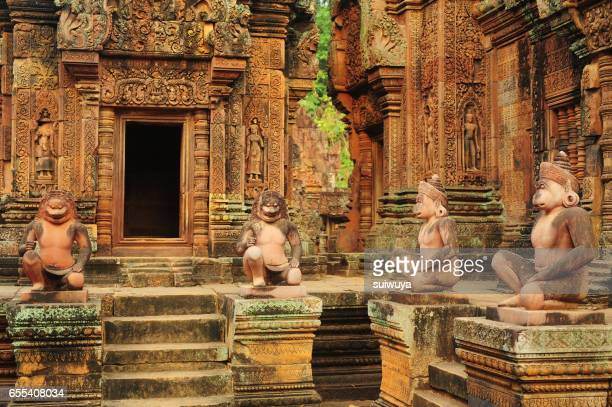 Banteay Srei Temple in Angkor,Siem Reap Province,Cambodia.