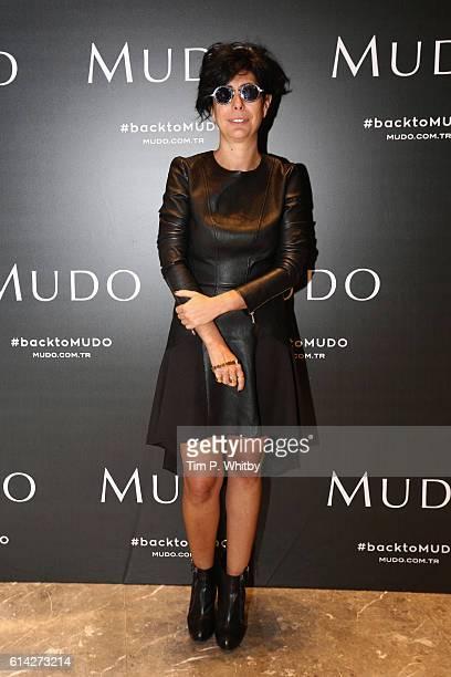 Banu Bolen poses at the Mudo press event during MercedesBenz Fashion Week Istanbul at Zorlu Center on October 13 2016 in Istanbul Turkey