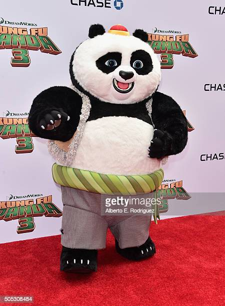 Bao attends the premiere of DreamWorks Animation and Twentieth Century Fox's 'Kung Fu Panda 3' at TCL Chinese Theatre on January 16 2016 in Hollywood...