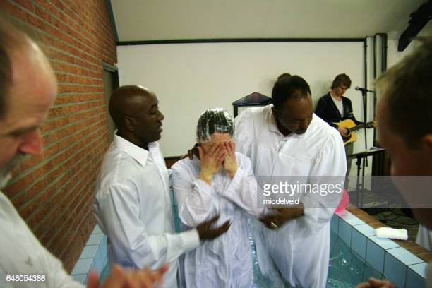 baptism ceremony - baptism stock pictures, royalty-free photos & images
