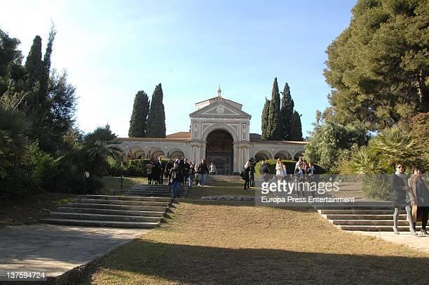 Baptism of Amaro Alcaraz Pratt on January 21 2012 in Barcelona Spain
