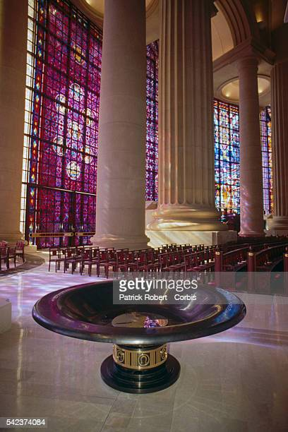 Baptismal Font in Our Lady of Peace Basilica