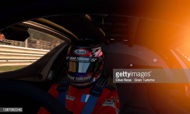 Baptiste Beauvois of France driving the Mercedes in action during race 2 of the FIA Gran Turismo Championship EMEA Regional Finals 2020 run at the...