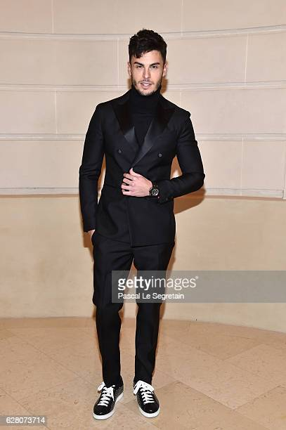 Baptiste Giabiconi attends Chanel Collection des Metiers d'Art 2016/17 Paris Cosmopolite Show on December 6 2016 in Paris France