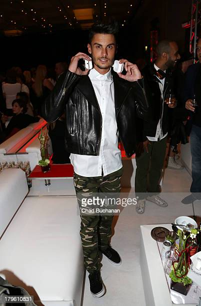 Baptiste Giabiconi attends Music Meets Media 2013 at Grand Hotel Esplanade on September 5, 2013 in Berlin, Germany.
