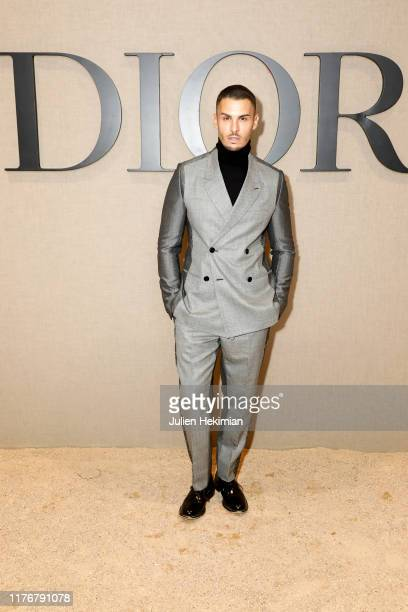 Baptiste Giabiconi attends the Christian Dior Womenswear Spring/Summer 2020 show as part of Paris Fashion Week on September 24 2019 in Paris France