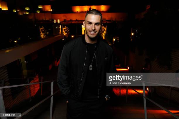 Baptiste Giabiconi attends the Diesel 'Spirit of the Brave' Perfume Launch Party at Salle Wagram on May 21 2019 in Paris France