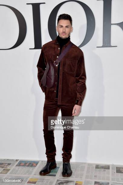 Baptiste Giabiconi attends the Dior show as part of the Paris Fashion Week Womenswear Fall/Winter 2020/2021 on February 25 2020 in Paris France