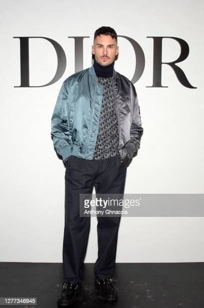 Baptiste Giabiconi attends the Dior Womenswear Spring/Summer 2021 show as part of Paris Fashion Week on September 29 2020 in Paris France