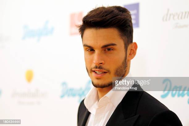 Baptiste Giabiconi attends the Dreamball 2013 charity gala at Ritz Carlton on September 12 2013 in Berlin Germany