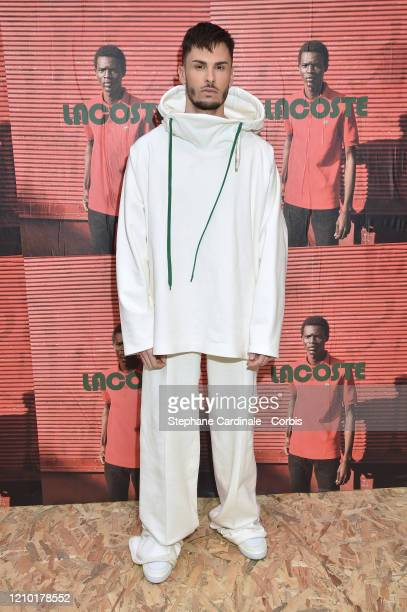 Baptiste Giabiconi attends the Lacoste show as part of the Paris Fashion Week Womenswear Fall/Winter 2020/2021 on March 03 2020 in Paris France