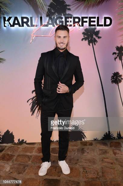 Baptiste Giabiconi attends the launch of the Karl x Kaia collaboration capsule collection on October 2 2018 in Paris France