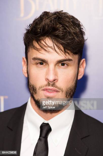 Baptiste Giabiconi attends the UK Launch Event of 'Beauty And The Beast' at Odeon Leicester Square on February 23 2017 in London England