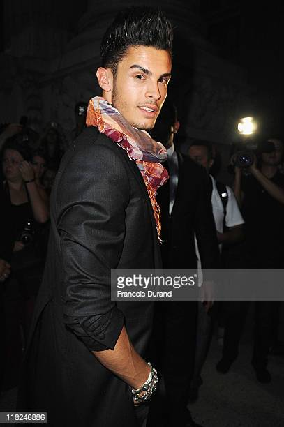 Baptiste Giacobini arrives for the Chanel Haute Couture Fall/Winter 2011/2012 show as part of Paris Fashion Week on July 5 2011 in Paris France