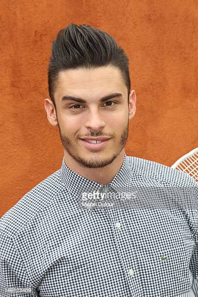 Baptiste Giacobini sighted at The French Open at Roland Garros on June 10 2012 in Paris France