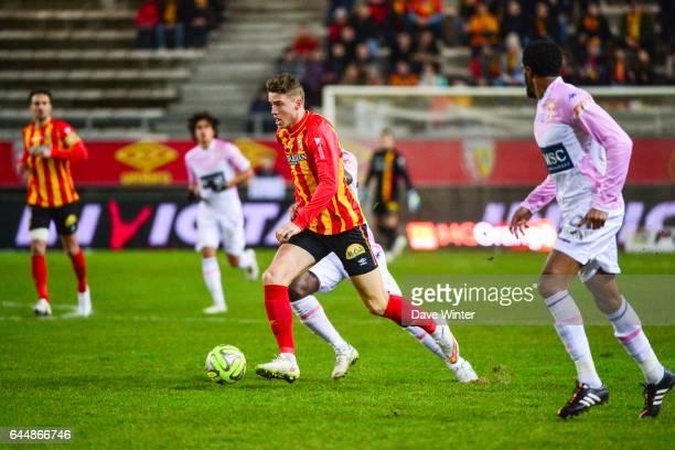 Baptiste GUILLAUME Lens / Evian Thonon 25eme journee de Ligue 1 Photo Dave Winter / Icon Sport