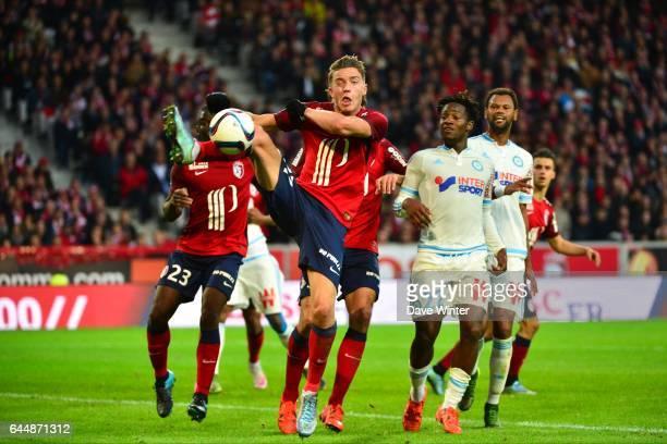Baptiste GUILLAUME Lille / Marseille 11eme journee de Ligue 1 Photo Dave Winter / Icon Sport