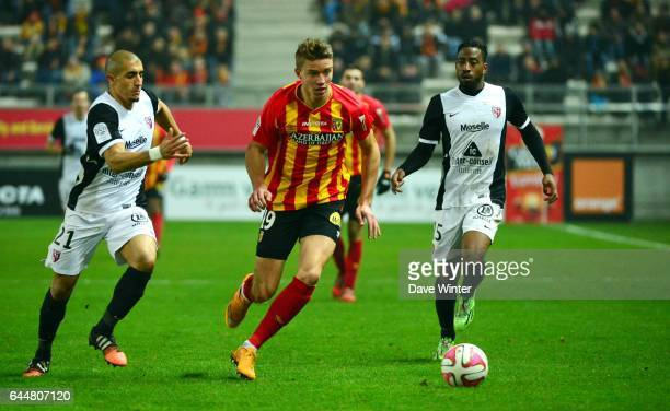 Baptiste GUILLAUME / Ahmed KASHI Lens / Metz 15eme journee de Ligue 1 Amiens Photo Dave Winter / Icon Sport