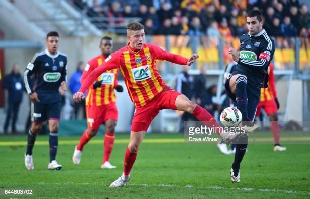 Baptiste GUILLAUME / Maxime GONALONS Lens / Lyon Coupe de France Photo Dave Winter / Icon Sport
