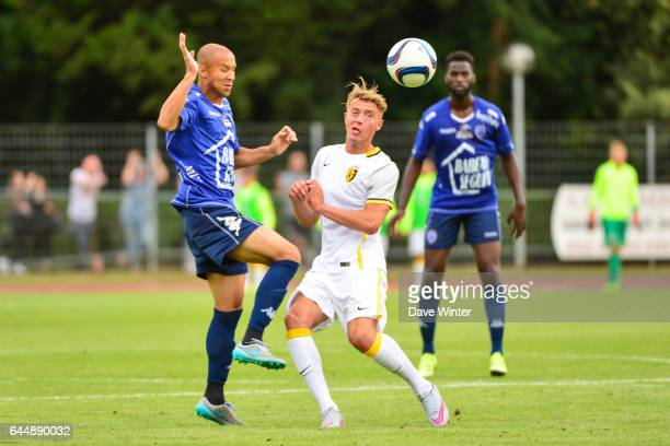 Baptiste GUILLAUME / XAVIER THIAGO Troyes / Lille Match amical Cambrai Photo Dave Winter / Icon Sport