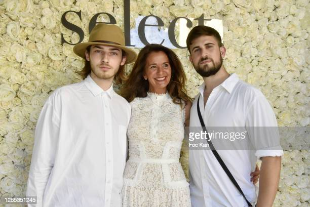 """Baptiste Morel, Mauboussin Paix Boutique Manager Judith Sultan and Journalists/Influencer Yanis Bargoin attend """" Mauboussin Private Party Hosted by..."""