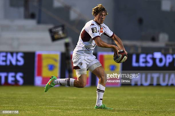 Baptiste Serin of Bordeaux Begles during the rugby Top 14 match between Toulon and Union Begles Bordeaux at Stade Mayol on June 5 2016 in Toulon...