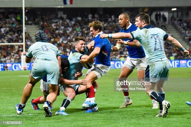 Baptiste Serin of France during the test match between France and Scotland on August 17 2019 in Nice France