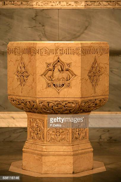 Baptistery Font at St Patrick's Cathedral