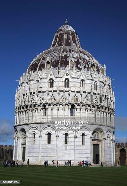 Baptistery of St John, Campo dei Miracoli, Pisa, Italy.