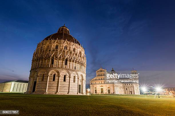 CONTENT] Baptistery of St John Pisa Cathedral Leaning Tower of Pisa