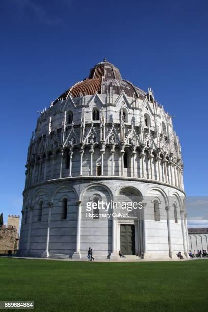Baptistery of St John, Pisa, Tuscany, Italy.