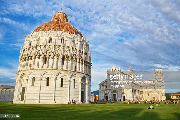 Baptistery, Pisa Cathedral, Leaning Tower of Pisa, Italy