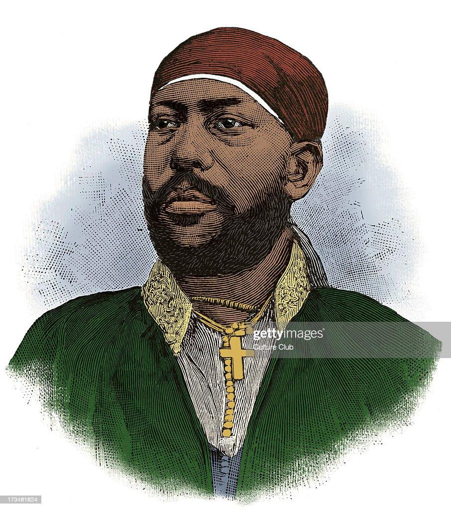 Menelik II, Emperor of Abyssinia, 1889 - 1913 : News Photo