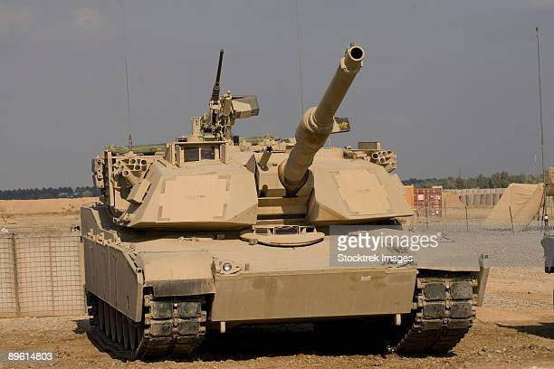 Baqubah, Iraq - M1 Abrams tank at Camp Warhorse.