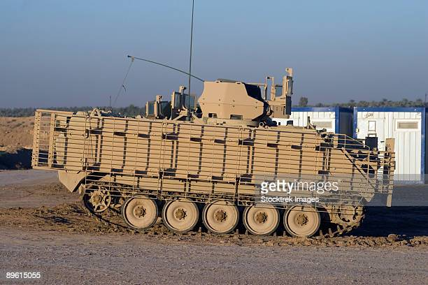 baqubah, iraq - m113 varient at camp warhorse. - armored vehicle stock pictures, royalty-free photos & images