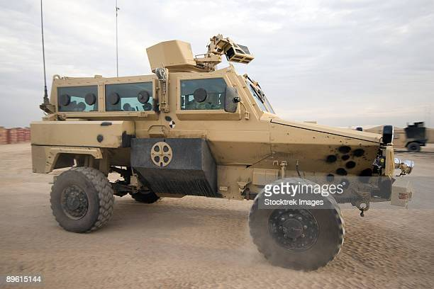 baqubah, iraq - rg-31 nyala armored vehicle. - mine resistant ambush protected stock pictures, royalty-free photos & images