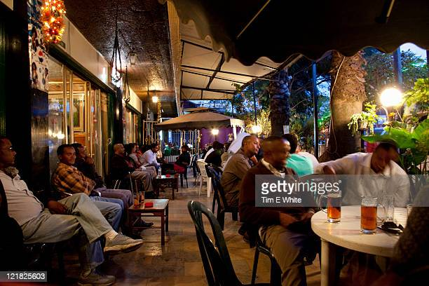 bar, addis ababa, ethiopia, africa - addis ababa stock pictures, royalty-free photos & images