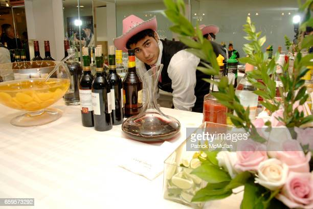 """Bar at Sofia's """"Hair for Health"""" Annual Party at the Rodolfo Valentin Salon and Spa on October 11 2009 in New York City"""